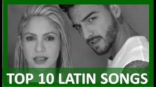 TOP 10 LATIN SONGS  (FEBRUARY 3, 2018)
