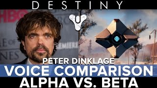 Destiny - Peter Dinklage Voice Comparison - Eurogamer