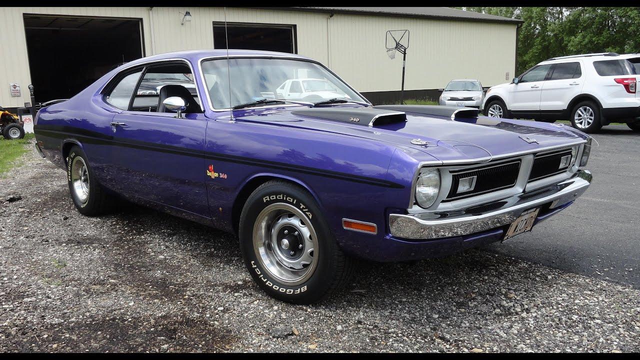1971 Dodge Demon 340 With Factory Plum Crazy Purple Paint My Car Story Lou Coile