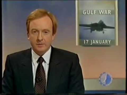 Gulf War: BBC Breakfast News 17 January 1991