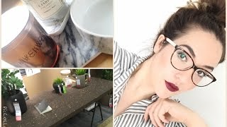WEEKLY BITS & PIECES #63 I NEUES BÜRO I IKEA - H&M HOME -  DM HAUL I CROSSFIT WORKOUT