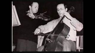 Jascha Heifetz (Violin), Emanuel Feuermann (Cello) Eugene Ormandy c...