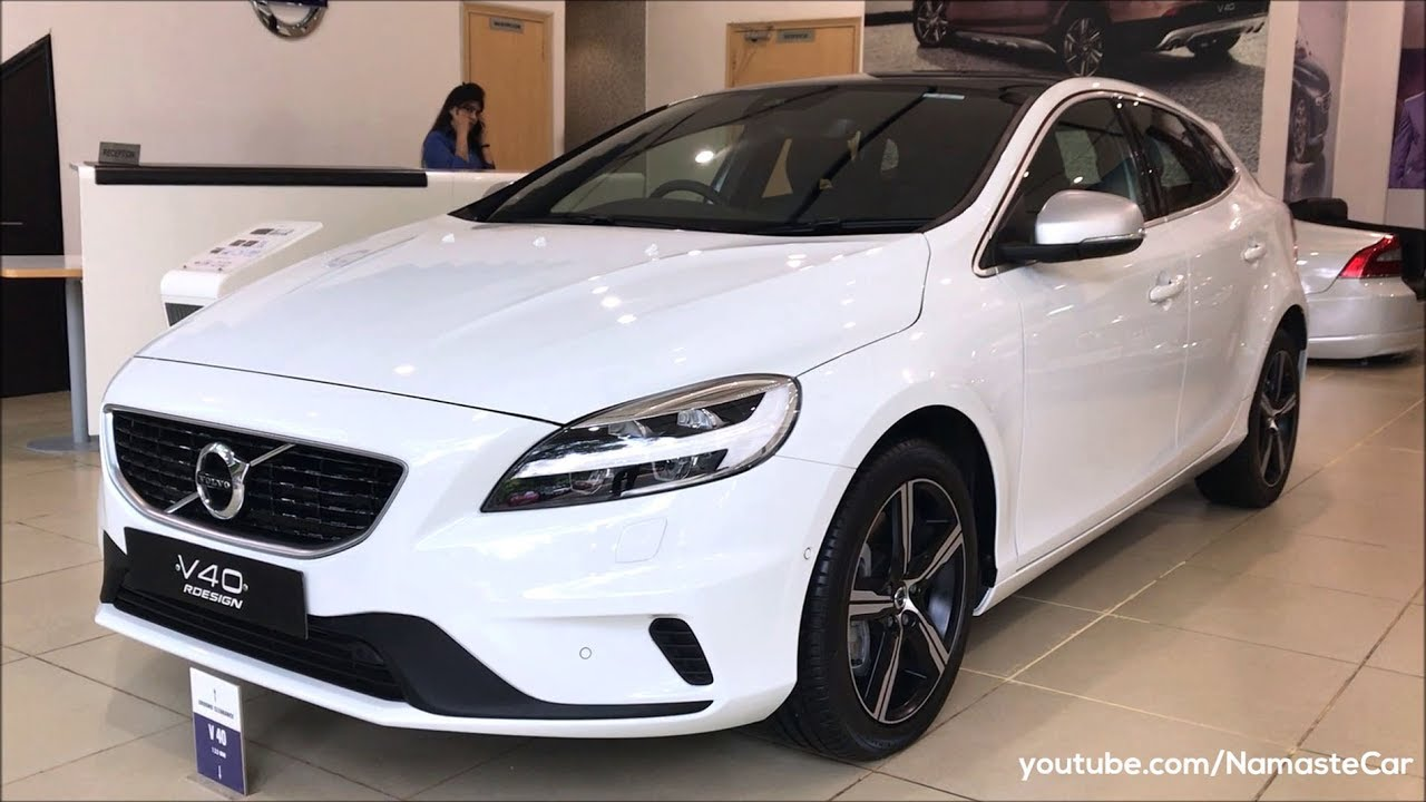 Volvo V40 D3 R-Design P1 2017 | Real-life review - YouTube