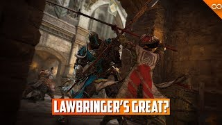 We Were Wrong, Lawbringer is NOT Bad, We are