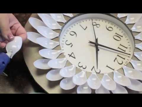 DIY Under 20 Dollar Wall Clock