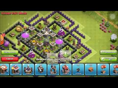 EPIC TH8 FARMING BASE | WALKTHROUGH | Clash Of Clans