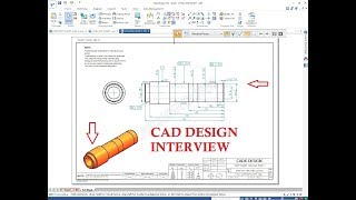 Design Engineer Interview CAD TOOL TEST