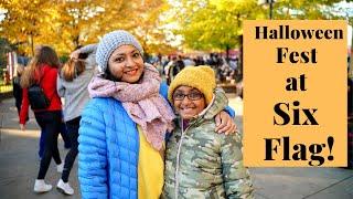 Bengali vlogHalloween fest at Six Flag ChicagoHalloween 2019বল ভডও