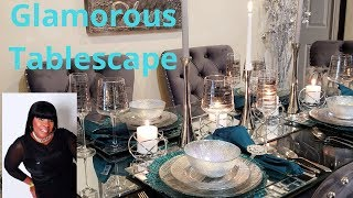 Glam Tablescape Collab with MiMy