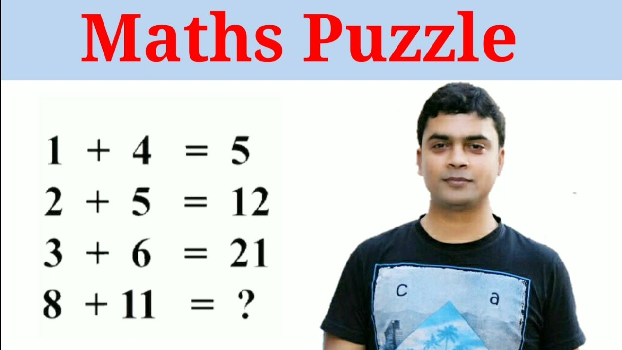 Maths Puzzle | How to Solve Maths Puzzle