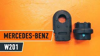 Como substituir uns suportes do estabilizador dianteiro no MERCEDES-BENZ 190 W201 [Tutorial]