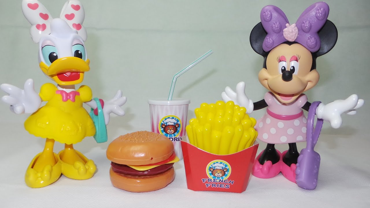 fisher price daisy duck and minnie mouse try the dollar tree fast ... - Cucina Fisher Price