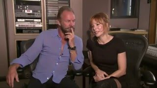 Mylene Farmer ans Sting's Sexy Music Video about 'Stolen Car'