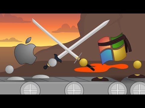 Mac Vs PC 8: Volcanic Infiltration