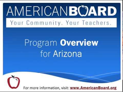 How to Become a Teacher in Arizona | Online Teacher Certification ...