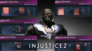 Injustice 2: Darkseid - All Unlockable Abilities