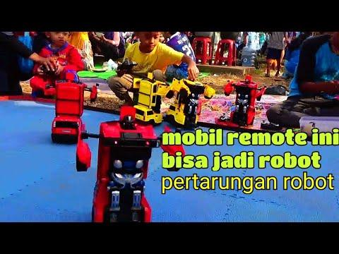 Canggih Bener Mobil Remot Ini Bisa Jadi Robot Pertarungan Robot Tobot