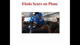 Ebola Scare Brings Hazmat Team on board Plane