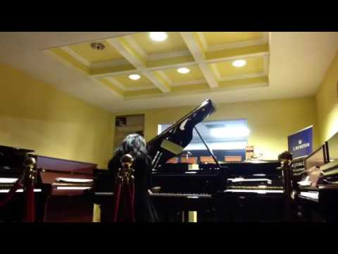 Chopin piano concerto no.2 2nd mov with karaoke