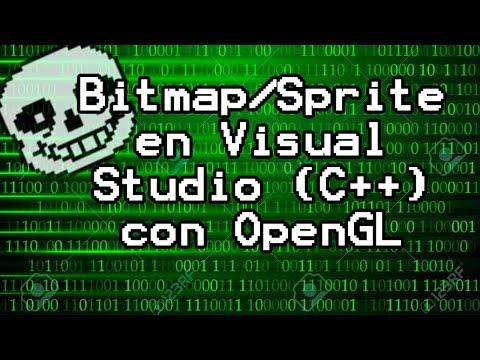 Algortimo Para Dibujar Un Bitmap/Sprite En C++ Con OpenGL