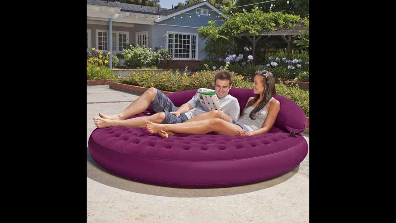 Telebrands Air Sofa Bed Review: Review: Intex Ultra Daybed Inflatable Lounge, 75 X 21