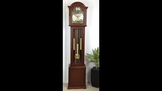 Clock Strike Sound Tempus Fugit Longcase Westminster Grandmother -765