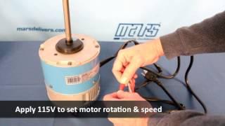 Azure 10870 Condenser Fan Motor