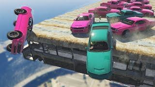 MUSCLE DERBY (GTA 5 Funny Moments)