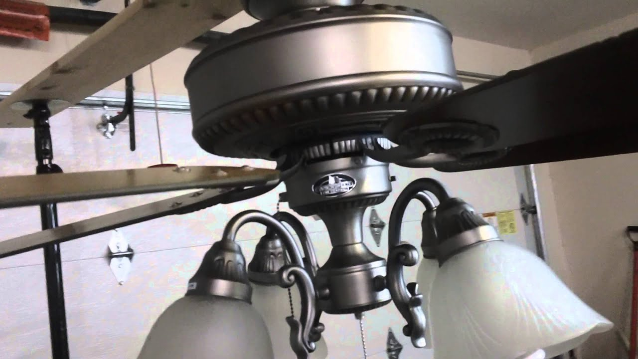 52 harbor breeze edenton ceiling fan youtube aloadofball Choice Image