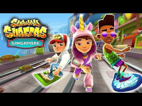 Subway Surfers Singalore Full Gameplay Game Walkthrough - iPad Gameplay for Children HD