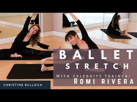 Ballet Bodies Ballet Stretch With Christine Bullock and Celebrity Trainer Romi Rivera