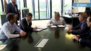 Provincia y ciudad de Córdoba firmaron un convenio por $826 millones