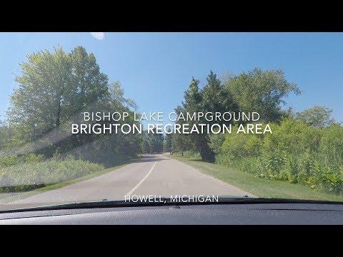 Bishop Lake Campground - Brighton Recreation Area - Howell, Michigan