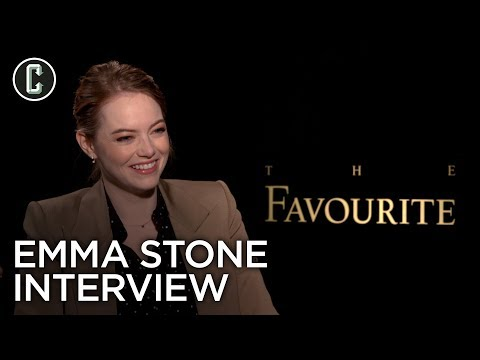 Emma Stone Interview The Favourite