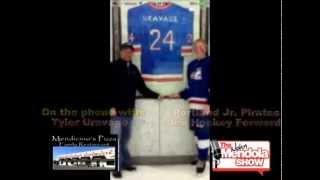 Gambar cover The John Mendola Show Tyler Uravage Ice Hockey