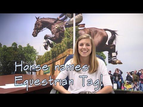Horse Names Equestrian Tag - SmartPaker Brooke