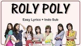 T-ARA - ROLY POLY Easy Lyrics by GOMAWO [Indo Sub]