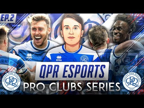 FIFA 18 Pro Clubs | QPR Esports Series | #2 | Tough Game!