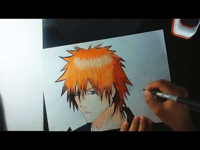Desenho Ichigo - bleach