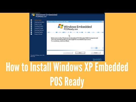 How to Install Windows XP Embedded POS Ready