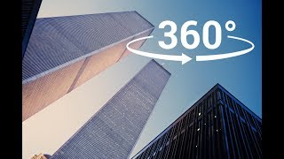 4K| Experince the REAL WTC Twin Towers in VR 360!