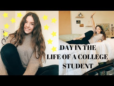 DAY IN THE LIFE OF A COLLEGE FRESHMAN // MICHIGAN STATE UNIVERSITY