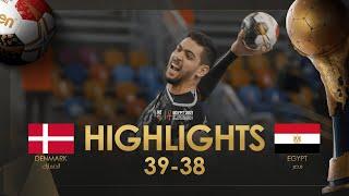 Highlights: Denmark - Egypt | Quarter finals | 27th IHF Men's Handball World Championship| Egypt2021