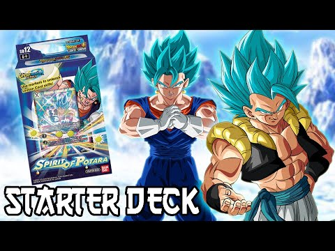 Spirit of Potara Dragon Ball Super Card Game Starter Deck 12