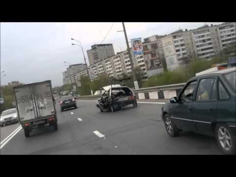 """Тест драйв, езда без """"крыши"""", прикол с машиной. Жесть, что ездит по нашим дорогам!!!"""
