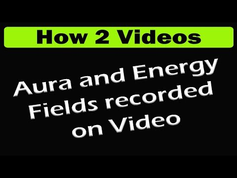 Video Equipment Records Aura's & Energy Fields   Kirlian Photography