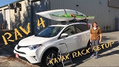 How to Carry Kayaks on a Factory Rack