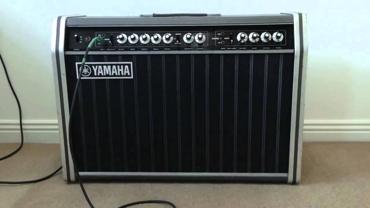 yamaha yta 95 vintage combo guitar amplifier amp youtube. Black Bedroom Furniture Sets. Home Design Ideas