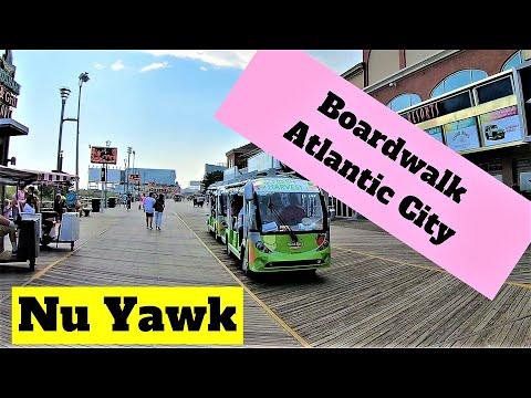 Atlantic City Video Tour Boardwalk