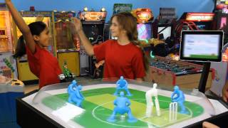 ThrowMotion: Watch Table Cricket in Action